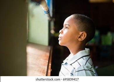 African Child Window Images Stock Photos Vectors Shutterstock