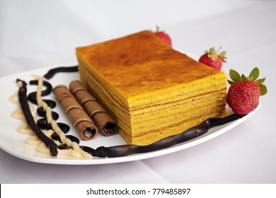 Thousand Layer Cake in Lapis Legit for Indonesian Food