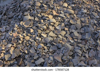 Thousand of Parts of Ancient Pottery Artefacts at the Biblical Azeka