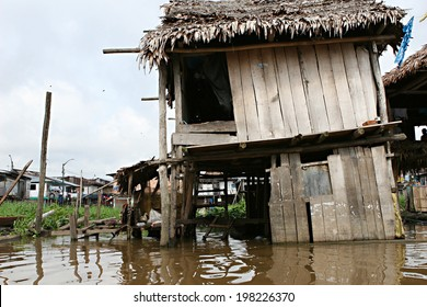 Thousands of people live here in extreme poverty without clean water or sanitation.