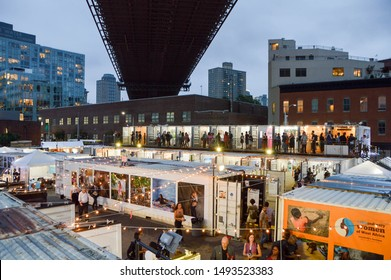 Thousands of people visited Photoville in Brooklyn Bridge Park on September 22, 2018.