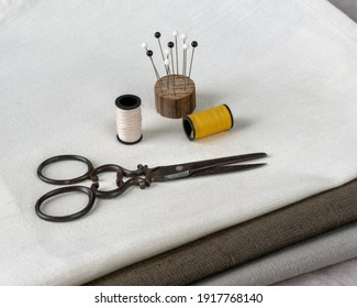 thread scissors pins, traditional sewing products accessories and tools