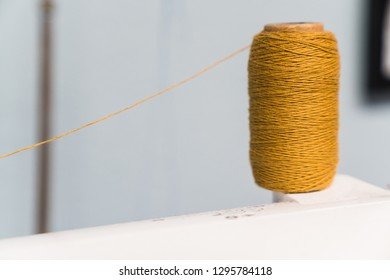 thread and sewing machine