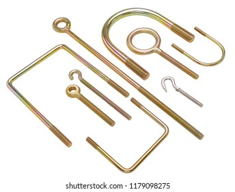 threaded u bolts for industrial use