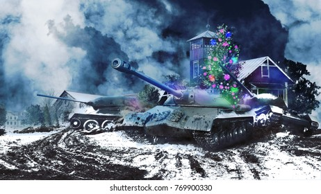 Three battle tanks in the new year are leaving rural areas