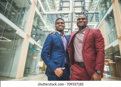 three Business people Friendship Diversity Multi ethnic