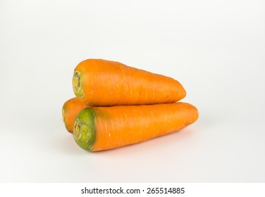 Three carrot isolated