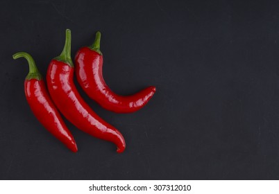 Three chilli peppers.