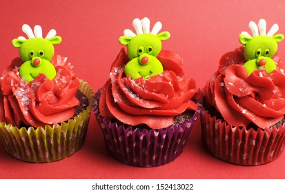 Christmas Cupcakes Images Stock Photos Vectors Shutterstock