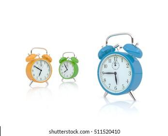 three clocks