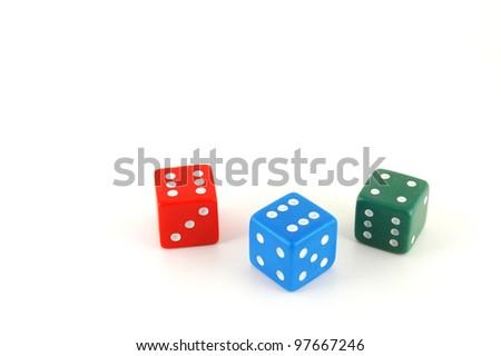 three-color-dice-over-white-450w-9766724