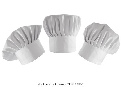 three cook hats