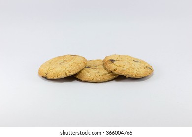 Three cookies on top of eachother