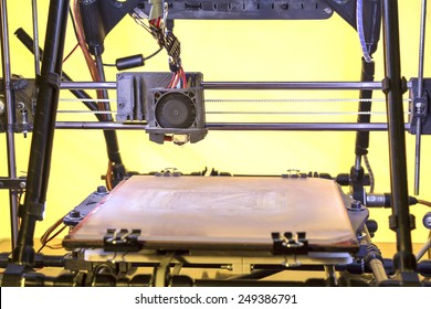 Three dimensional printer, Printing with Plastic Wire