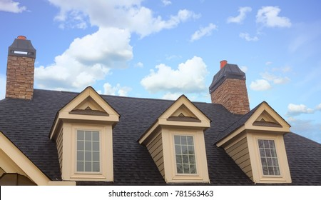 Three Dormers and Two Chimneys