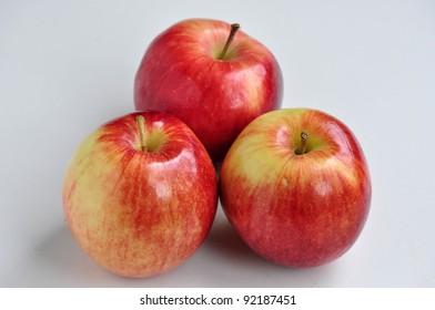 Three Empire Apples