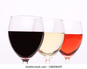 Three glass of wine