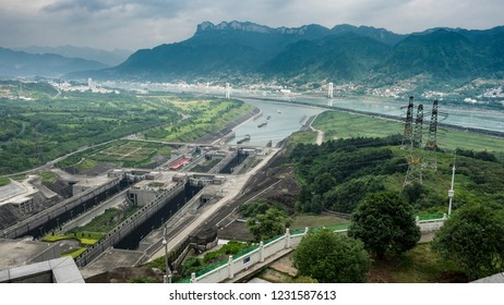 Three Gorges Dam China Yangtze
