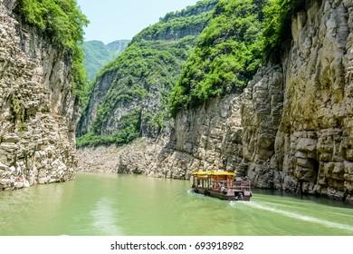 The Three Gorges Yangtze River China
