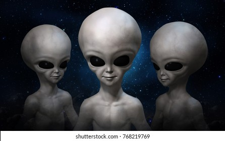 three-grey-aliens-on-background-260nw-76