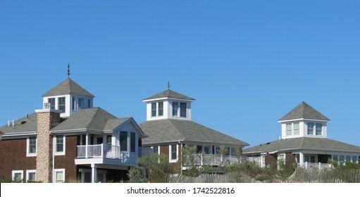 Three Houses in Galilee, RI