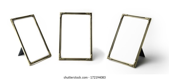 Three images of the same frame in different angles
