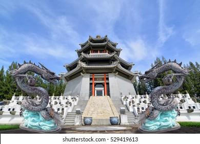 Three Kingdoms Park ,Pattaya City, Thailand