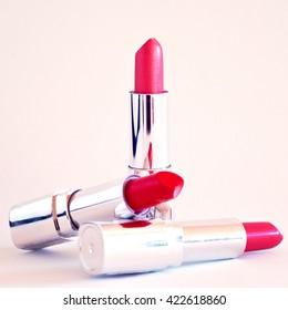 Three lipsticks