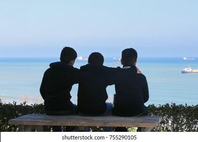 Three Boys Images Stock Photos Vectors Shutterstock