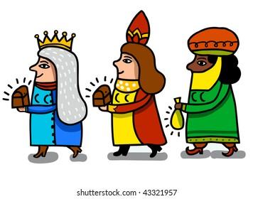 three magical queens