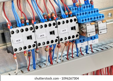 three magnetic contactors two intermediate 260nw 1096267304 royalty free contactors images, stock photos & vectors shutterstock