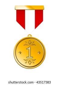 Three Medals of Achievement, gold, silver and bronze.inside area of medal can be  personalized