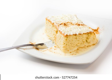 Three milk cake, Traditional dessert of Latin America
