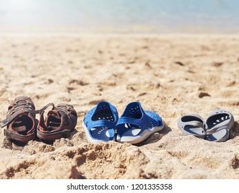 9b5584f6c06e5 Leather Vintage Shoes Put On Rock Stock Photo (Edit Now) 763572739 ...