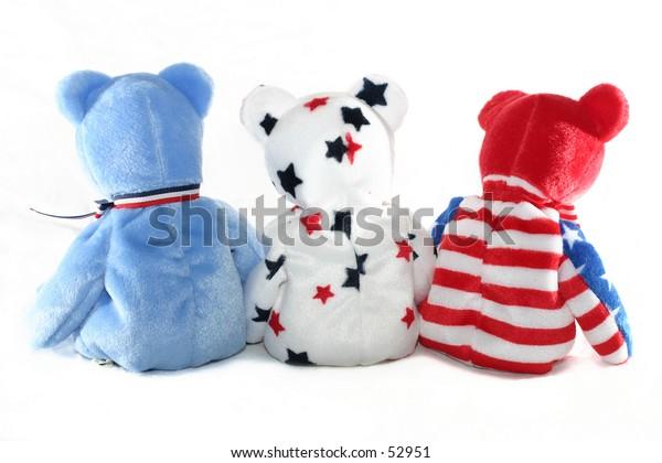 Three Patriotic Bears