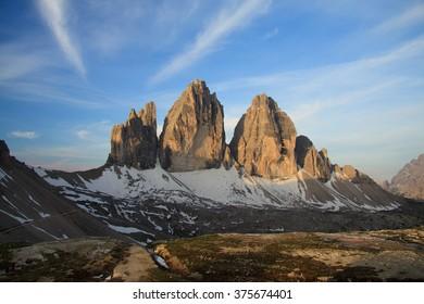 Three Peaks - Dolomites