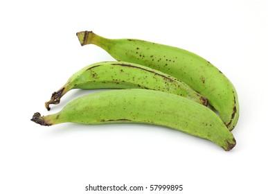 Three Plantain Bananas