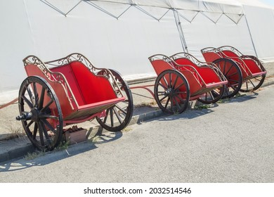 Three Roman red chariot. A chariot is a type of carriage driven by a charioteer, usually using horses to provide rapid motive power.