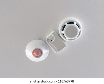 Three sensors of security system