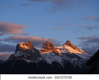 Three Sister in Canmore Alberta