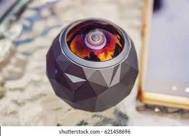 Three sixty degree camera