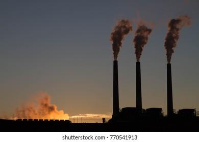 Three Smoke Stacks