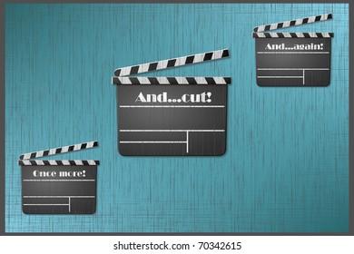 Three times a movie