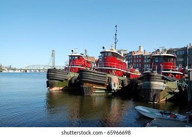 Three Tugboats
