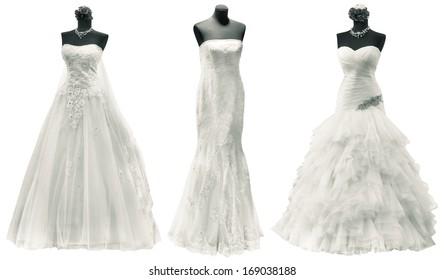 99d4479ef Wedding Dresses On Mannequins Images, Stock Photos & Vectors ...