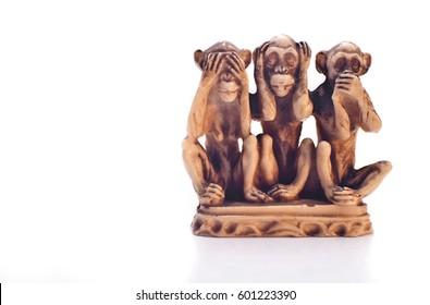 Three wise monkeys- code of silence