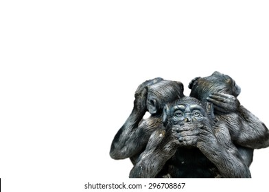 Three Wise Monkeys Images, Stock Photos & Vectors | Shutterstock