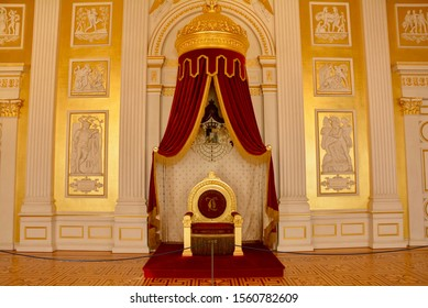 The throne room in Deutsches Museum, Munich, Germany - 15 Oct 2019