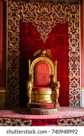 Throne room, Palazzo Reale, Naples, Italy