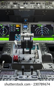Throttles in a modern airplane